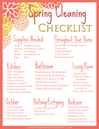sunday funday free printable spring cleaning checklist amy
