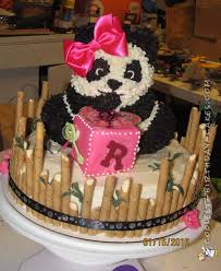 coolest homemade panda bear cakes