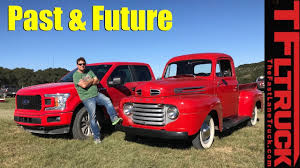 future ford trucks past and future ford f1 u0026 bollinger b1 electric at the texas