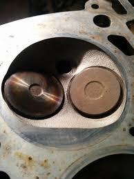 85 k100 2v exhaust valves light gray