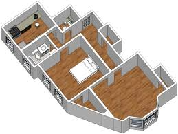 sketchup for floor plans residential plan birdseye sketchup presentations
