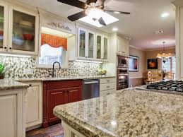 examples of granite countertops in kitchens stainless steel single