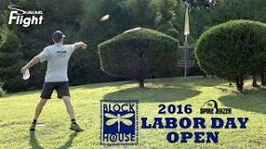zylinderoberfl che block house labor day open 2016 disc golf tournament from