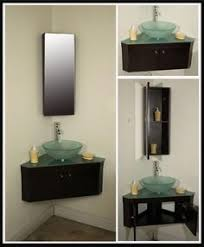 Corner Vanity Sinks For Bathrooms by Look Closet Turned Into Small Bathroom Tiny Powder Rooms Half