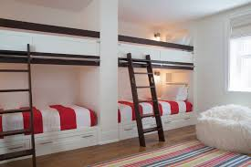 Bunk Beds Built Into Wall Built In Bunk Bed Ideas Bedroom Style With Built In