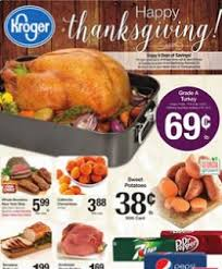 kroger weekly ad november 18 26 2015 happy thanksgiving