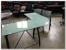 Glass L Shaped Desk Frosted Glass L Shaped Desk Desk Interior Design Ideas Azxaelyxz5