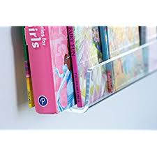 childrens wall mounted bookshelves amazon com better the day kids invisible floating bookshelf