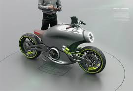 tesla concept motorcycle porsche 618 two wheels project on behance