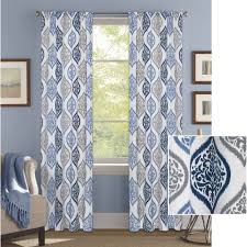 Better Homes Curtains Shocking Better Homes And Gardens Damask Ogee Curtain Panel