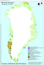 Greenland Map Greenland Minex News No 15