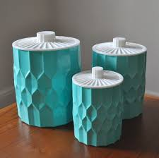 plastic kitchen canisters i these heres a set of 3 vintage plastic kitchen canisters