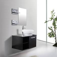 Wall Mounted Bathroom Vanity by Bathroom Modern Bathroom Design With Interior Potted Plant On