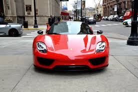 gold porsche 918 2015 porsche 918 spyder stock 00282 for sale near chicago il