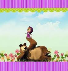 masha bear free printable invitations masha u0026 bear