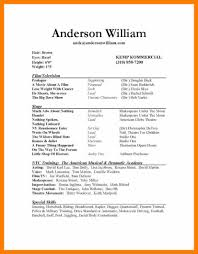 Skills To Include On A Resume Resume For Theatre Resume For Tony Yazbeck Broadway Actor