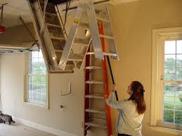 Attic Stairs Design Pull Staircase Stair Railing Design