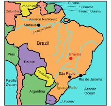 map of brazil brazil for