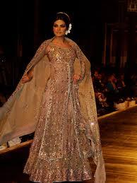 brown wedding dresses wedding ideas shilpa shetty gray net crape resham