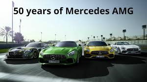 of mercedes 50 years of mercedes amg