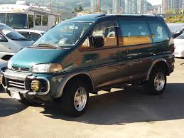 mitsubishi delica for sale mitsubishi delica crystal lite roof only 64k kms jdm import ltd