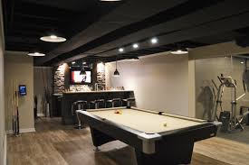 Unfinished Basement Ceiling Ideas by 20 Basement Ceiling Ideas On A Budget T Shaped Island Home