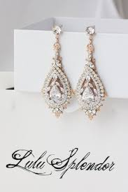 gold bridal earrings chandelier gold bridal earrings chandelier wedding earrings swarovski