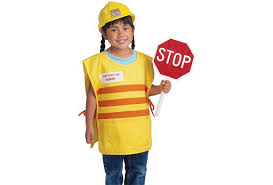 Construction Worker Costume Twill Costume Discount Supply
