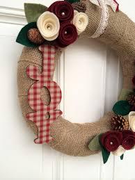 10 handmade front door christmas wreaths u2013 adorable home