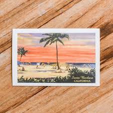 santa barbara postcard the santa barbara company