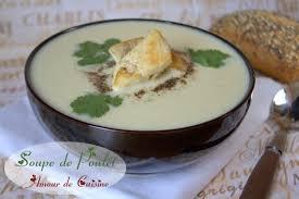 amour de cuisine soupe veloutée de poulet amour de cuisine