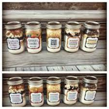 5 cookies in a jar with printable recipes gifts ideas