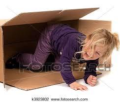si e banque de banque de photo enfant dans box si en mouvement à