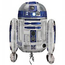 wars balloons delivery wars r2d2 supershape balloon delivered inflated in uk