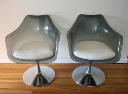 mid century modern shell chairs picked vintage