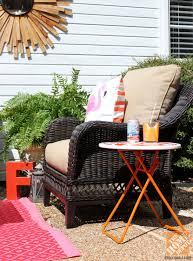 Hampton Bay Outdoor Rugs Patio Decor Ideas Colorful Poolside Seating By Cassie