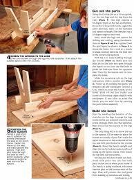 backyard bench plans u2022 woodarchivist