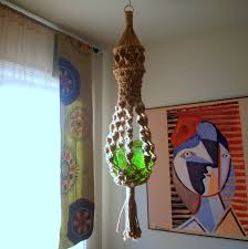 gypsy decorating ideas boho chic decor vintage macrame plant