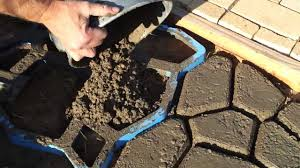 Concrete Driveway Paver Molds by How To Make Concrete Paving Stones Youtube