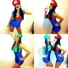 Mario Luigi Halloween Costumes Mario Luigi Costumes Teenage Girls Halloween Costumes