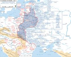 Ww2 Europe Map by Map Of Russia In Wwii Operation Bagration June 22 August 19 1944