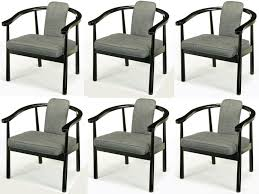 White Upholstered Dining Chair Gray Fabric Dining Chairs Dining Chairs Dining Room Industrial