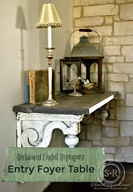 Entry Foyer by Serendipity Refined Blog Reclaimed Architectural Corbel Diy