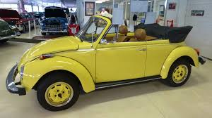 volkswagen yellow 1979 vw volkswagen beetle convertible karmann stock 035569 for