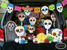 day of the dead trunk or treat ideas lynlees