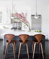 stools for kitchen islands navy wood and grey kitchen designed by grant k gibson at