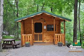 Cottage Rentals Poconos by Mountain Vista Campground Family Camping In The Pocono Mountains