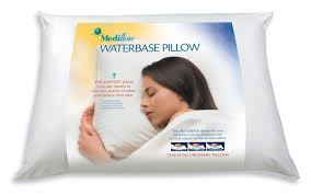 best bed pillows for neck pain amazon com mediflow original waterbase pillow home kitchen