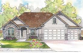 Single Story Ranch House Plans Ranch House Plans Rosemont 30 376 Associated Designs