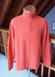 french rib half zip pullover polo ralph lauren sweatshirts